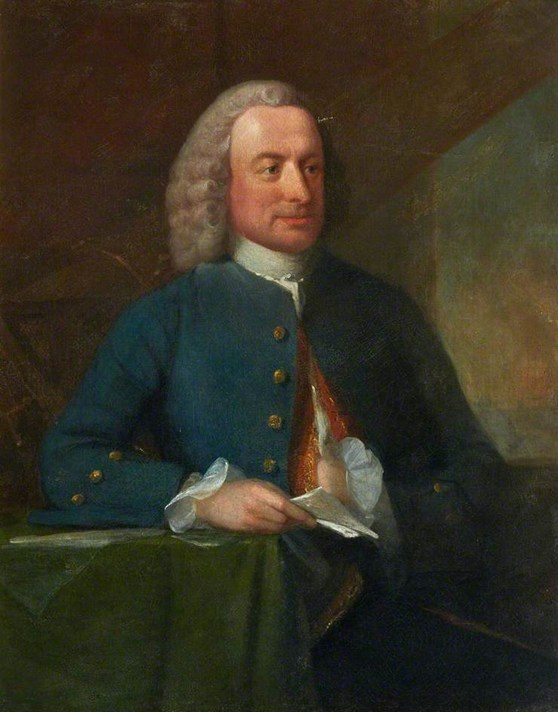 Oil painting portrait of James Short