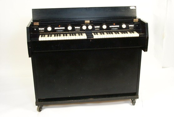 Colour photograoh of an early type of sound effects synthesizer
