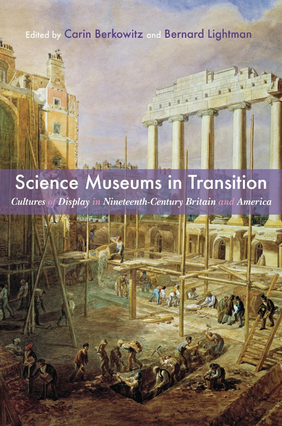 Front cover illustration of Science Museums in Transition