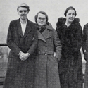 Newspaper clipping from 1969 showing women engineers Margaret Rowbotham Beatrice Shilling and Margaret Partridge