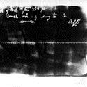 Glass plate etching produced using the ear phonautograph
