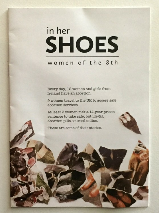 A pamphlet entitled In Her Shoes women of the eighth