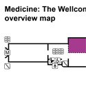 Medicine and Treatments gallery overview map